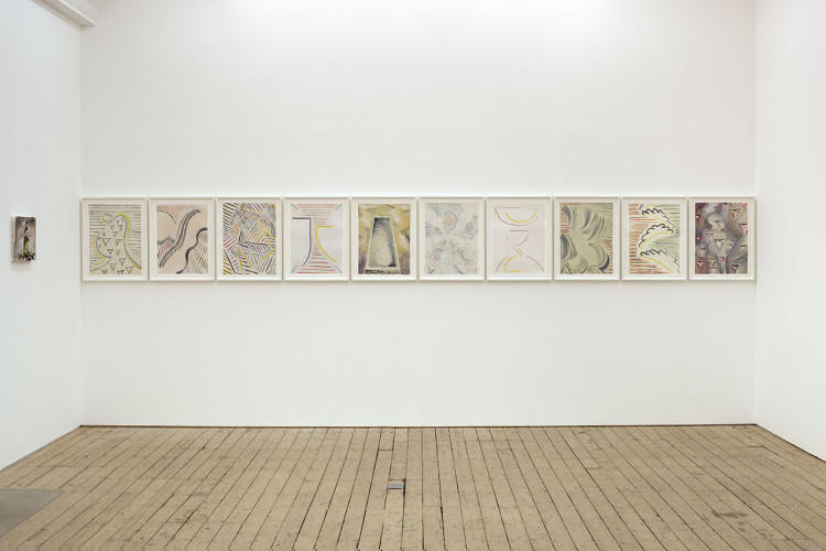 Capital P, Installation view at The Approach, London, 2011
