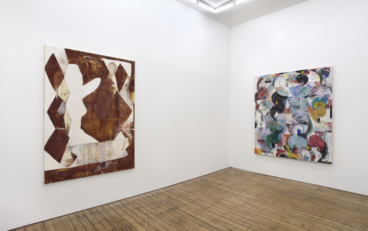July, Installation view at The Approach, London, 2014