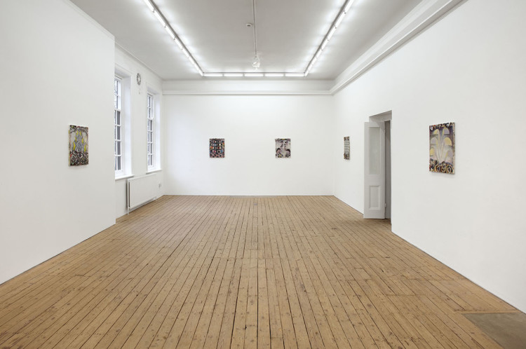 Capital P, Installation View at The Approach, 2011
