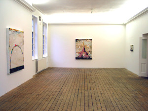 Phillip Allen, Paintings, Installation view at The Approach, London, UK